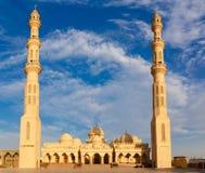 Exterior of El Mina Masjid Mosque Royalty Free Stock Images