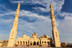 Exterior of El Mina Masjid Mosque Royalty Free Stock Photography
