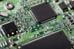 Hard Drive Electronic Board Stock Photography