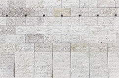 Exterior embossed tiles Stock Photo