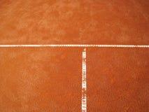 T-line del campo de tenis (67) Imagen de archivo
