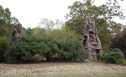 Exterior encima de Crystal Shrine Grotto fotografía de archivo