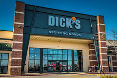 Exterior Entrance of Dicks Sporting Goods Stock Image
