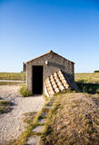 Exterior of Etruscan tomb Royalty Free Stock Photography