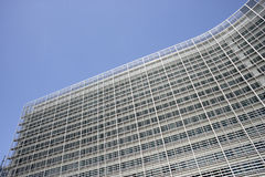 Exterior Of European Commission Building Royalty Free Stock Images