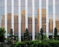 Exterior, facade of building. Stock Photo