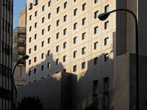 Exterior, facade of building. Royalty Free Stock Photos