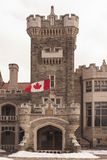 Exterior Facade of Casa Loma in Toronto Stock Images