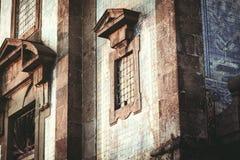 Exterior facade door stock photography