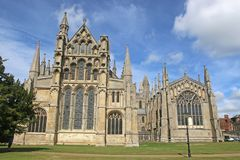 Ely Cathedral, Cambridgeshire royalty free stock image
