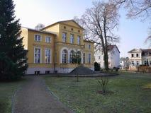 Exterior facade of the Gerhart Hauptmann museum Stock Photos