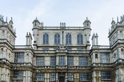 Wollaton Hall, Nottingham. The exterior and facade of Wollaton Hall in Wollaton Park, Nottingham, UK royalty free stock photos
