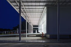 Exterior of factory building Stock Photography