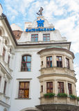Exterior of famous Hofbrauhaus - Munich, Germany Royalty Free Stock Photo