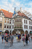 Exterior of famous Hofbrauhaus - Munich, Germany Royalty Free Stock Image
