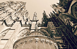 Exterior of the fascinating Cologne Cathedral Stock Photo