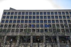 The FBI Headquarters in Washington stock photography