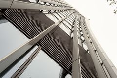 Exterior 20 Fenchurch Building Abstract Stock Photography