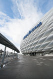Exterior of football stadium Allianz Arena, home of FC Bayern Munich and TSV 1860 Munchen, Munich, Germany Stock Images