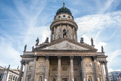 Exterior of the French Cathedral in Berlin Stock Photos