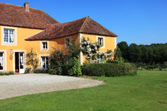 Exterior of French house Stock Photos