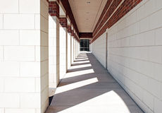 Exterior Geometric Walkway Stock Image