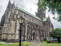 Exterior of Glasgow Cathedral Royalty Free Stock Photos