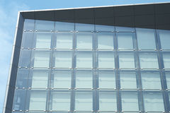 Exterior Glass Walls in Sun Stock Photo