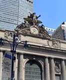 Exterior of Grand Central Terminal in New York City, NY USA Stock Image