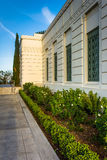 The exterior of Griffith Observatory, in Los Angeles  Royalty Free Stock Photo