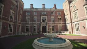 Exterior and grounds of Webb Institute (3 of 6). A view or scene of Education stock video footage