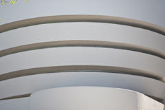 Exterior of Guggenheim Museum Stock Images