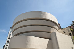Exterior of Guggenheim Museum Royalty Free Stock Photography