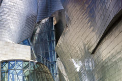 Exterior of The Guggenheim Museum Stock Photography