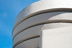 Exterior of Guggenheim Museum Royalty Free Stock Photos