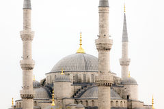 Exterior of Hagia Sophia mosque in Turkey Royalty Free Stock Photos