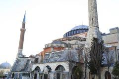 Istanbul/Turkey-04.03.2019:Exterior of Hagia Sophiya,Aya Sofiya. Exterior of Hagia Sophiya,Aya Sofiya stock photos