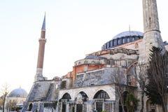 Istanbul/Turkey-04.03.2019:Exterior of Hagia Sophiya,Aya Sofiya. Exterior of Hagia Sophiya,Aya Sofiya stock image