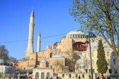 Istanbul/Turkey-04.03.2019:Exterior of Hagia Sophiya,Aya Sofiya. Exterior of Hagia Sophiya,Aya Sofiya stock photo