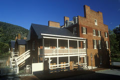 Exterior of Harpers Ferry, WV Royalty Free Stock Photography