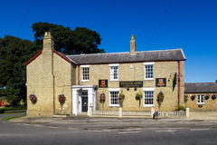 Exterior of the Heneage Arms - community pub. Stock Images