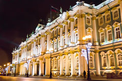 Exterior Hermitage in Sankt Petersburg Royalty Free Stock Photo