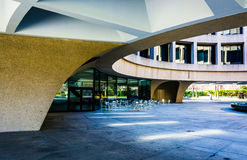 The exterior of the Hirshhorn Museum in Washington, DC. Stock Image
