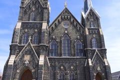 Exterior of Historic Church in Milwaukee Stock Photos