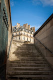 Exterior of a historical townhouse in Paris Stock Photo
