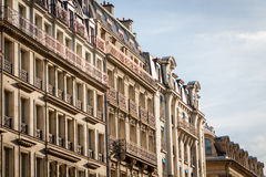 Exterior of a historical townhouse in Paris Royalty Free Stock Photography