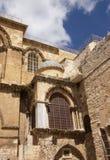 Exterior of Holy Sepulcher church Stock Photos