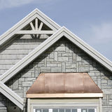 Exterior Home Roof Details stock photos