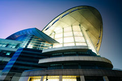 The exterior of the Hong Kong Convention and Exhibition Centre a Stock Images