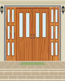 Exterior House Door Royalty Free Stock Photo